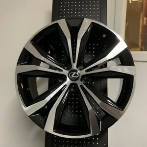20 Black Rx350 Fsport Premium Style Rims Wheels 2018 Design 5x114 3 For Lexus