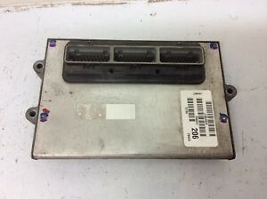 Jeep Grand Cherokee 1996 4 0 I6 A t Ecu Engine Computer Part P56041206