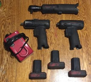 Snap On Cordless Impact Screwdriver Ratchet Charger 95th Anniversary Lot