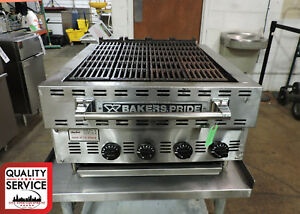 Bakers Pride Xxe 4 Commercial Countertop Gas Charbroiler