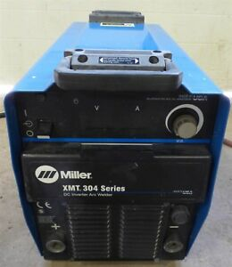 Miller Xmt304 Inverter Multi Process Welder Mig Tig Stick Arc Pulse Capable