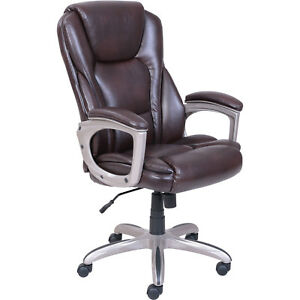 Serta Big Tall Commercial Office Chair With Memory Foam 45752 Ships Free