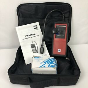 Tif Instruments Tif8800x Handheld Combustible Gas Detector Tested