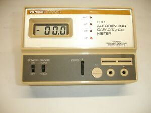 B k Presision 830 Capacitance Meter With Digital Display 4267