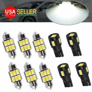 2x Canbus White 42mm 4014 20smd Festoon Led Interior Light Bulbs 212 2 6411 6413