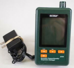 Extech Sd700 Data Logger Barometric Pressure Humidity Temperature Datalogger