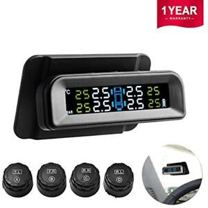 Favoto Aftermarket Systems Tpms Car Tire Pressure Monitoring Solar Power 4 Real