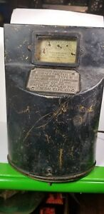 Thomson general Electric Direct Current Watthour Meter Recording Antique