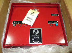 Firetrol fta200 a Fire Alarm Panel new