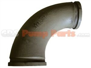 Concrete Pump Parts 5 4 X 90 Degree Reducing Bend Elbow