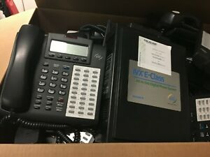Mint Esi Ivx E class Gen Ii Telephone System With 28 X 48 Key Hdfp Handsets