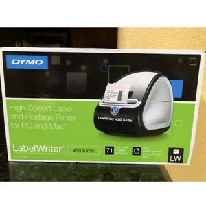 New Dymo Labelwriter 450 Thermal Label Printer Shipping Label