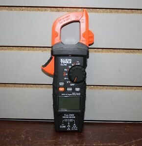 Klein Tools Cl700 600 Amp Ac Auto Ranging Clamp Digital Meter No Leads