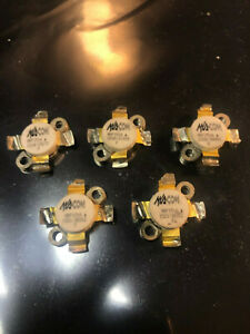 Lot Of 5 Ma com Motorola Mrf 151a High Power Transistors tested Good