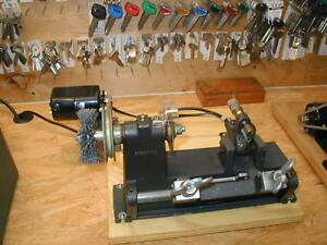 Two Belsaw Model 200 Key Machines