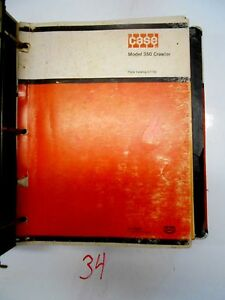 Case 350b Crawler Tractor Parts Catalogs C1162 A1386 In Case Binder 74 86
