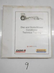 Cnh New Holland Disc And Mower Conditioner Technical Service Training Manual