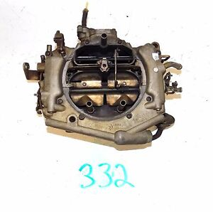 1976 Chrysler Thermo Quad Spreadbore 4v Carburetor 9058s Mopar 440 Auto C4 Tq