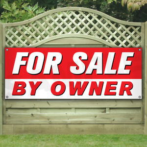 For Sale By Owner Vinyl Banner many Sizes Business Flags Signs House Store