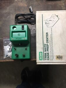 RCBS Trim Mate Case Prep Center 90375 With Box And Extras.  See Description.