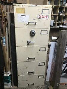 Gsa Mosler Sf 05 Safe Security Container 5 drawer File Cabinet Price Drop