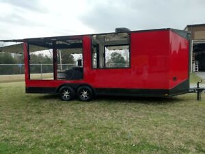 New 8 5x20 Kettle Cooker Concession Trailer