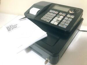 Casio Se s700 Thermal Print Electronic Cash Register With Keys User s Manual
