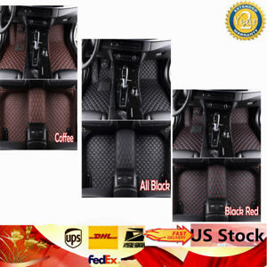 Left Right Floor Mats Carpet Pads Fit For 2012 2018 Jeep Grand Cherokee 5 7l