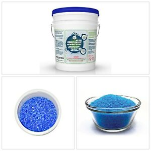 Pure Copper Sulfate 10 Lbs Pentahydrate Crystals Pail All Purpose Cleaners New
