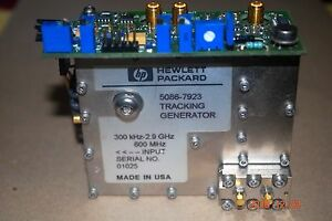 Hp agilent Spectrum Analyzer Tracking Generator 5086 7923 300 Khz 2 9 Mhz