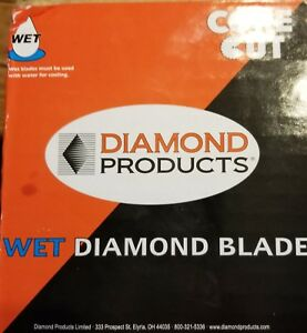 Core Cut Wet Diamond Blade 20 155 1 Super Pro Concrete Blade Spgc5500x