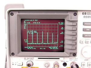 Hp Agilent 8591e 9khz 1 8ghz Spectrum Analyzer Option 010 Tracking Generator