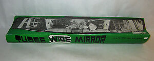 Vintage 1970s 3 wide Auto Rearview Mirror Attachment