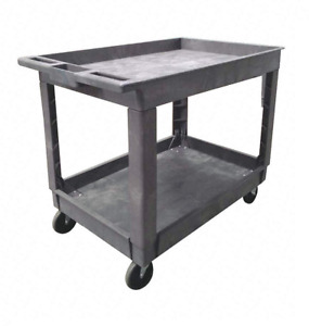 Polypropylene Flat Handle Utility Cart 5utj2