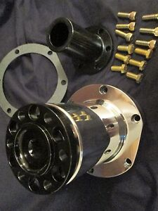 New 8 Blower Snout Polished Complete Hemi Nitro Ford Chevy Dragster Street Rod