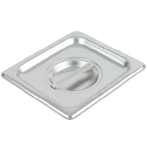 6 pack 1 6 Size Stainless Steel Silver Steam Table Hotel Pan Lid Covers