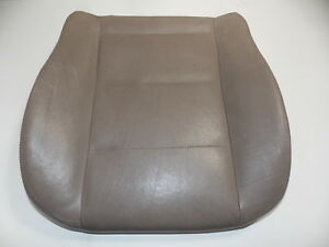 Bmw E36 Front Seat Leather Bottom Cushion Beige L R Oem 92 99 318 323 325 328
