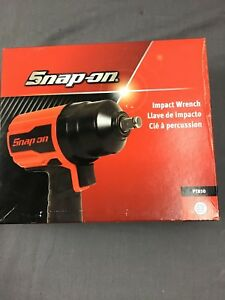 Snap on Pt850 Super Duty 1 2 Air Impact Wrench In Box Excellent See Pictures