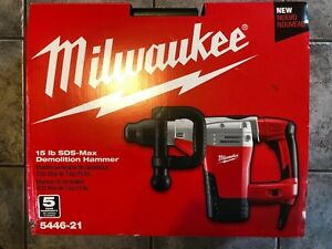 Milwaukee 5446 21 Sds max Demolition Hammer Brand New In Original Bkx