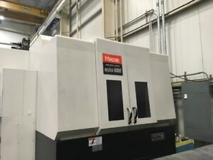 Cnc Horizontal Machining Ctr Mazak Hcn6000 Rigid Tp 10k Rpm Hi Pres Cool 5146 Hr