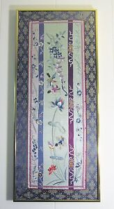 Beautifully Framed Hand Embroidered Chinese Silk Tapestry Wedding Engagement