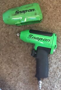 Snap On Mg325 3 8 Drive Air Impact Wrench Green 0103