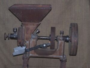 Corn Grain Grinder Hit And Miss Ready To Go To Work Cow Sheep Goat Etc
