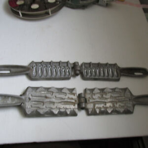 LOT 2 PALMER SINKER MOLDS  101 AND 403 FISHING