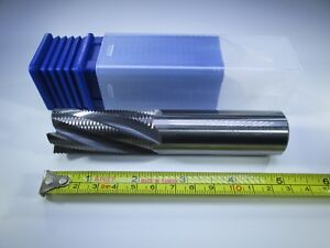 New Usa Carbide 1 Inch Roughing End Mill 5 Long Milling Rougher Lathe Tool Bit