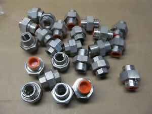 24 New 1 2 Stainles Steel Unions For Plumbing Hydralic Air Lines 316 Stainle