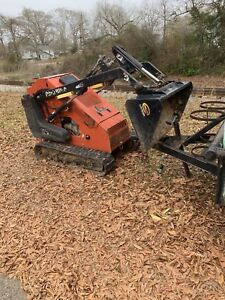 Mini Skid Steer Ditch Witch Sk650 Ride Behind Skidsteer Loader