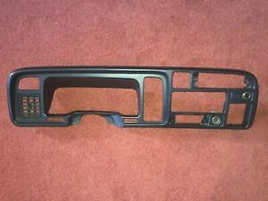 1994 1997 Dodge Ram 1500 2500 3500 Dash Radio Speedometer Trim Bezel Oem