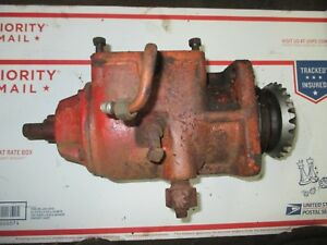 Case Vac Tractor Belt Pulley Housing