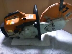 Stihl Ts400 Concrete Saw 14